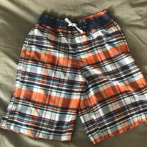 Boys 14-16 Nautica swim trunks